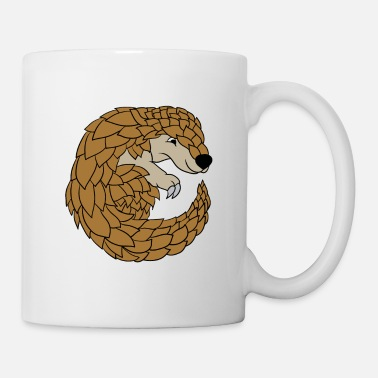 Boy Pangolin Lovers Funny Cute Specie Save Gift - Mug
