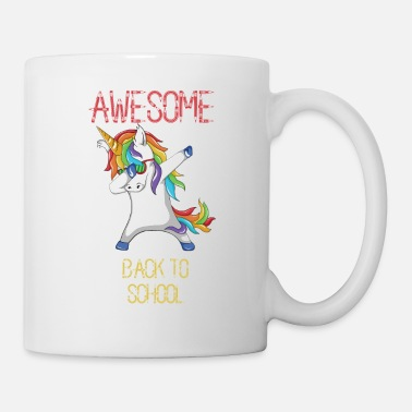 Gogo Awesome Back to School Dabbing Unicorn Kindergarte - Mug