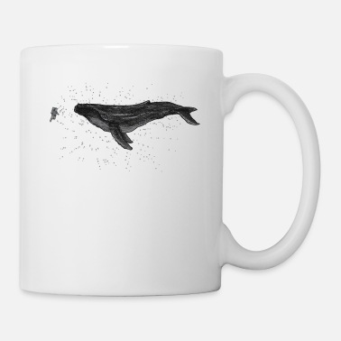 Weightless The Lightness of the Blue Whale - Weightlessness a - Mug