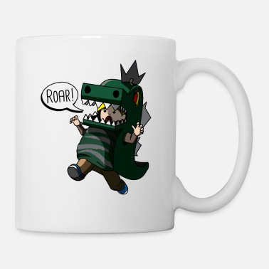 Fake Cosplay RPG Player Costume Funny Anime Cosplayer - Mug