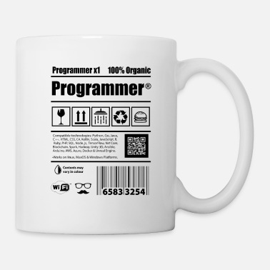 Java Coder programmers caffeine developers Gift - Mug