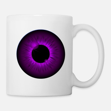 Eyeball Pupil And Iris In Closeup Eye Doctor Gift - Mug