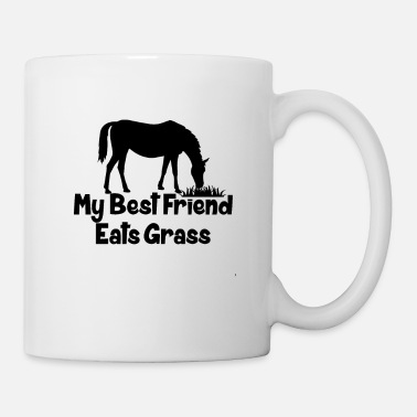 Sayings Funny Horse Quote - Mug