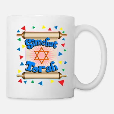 Star Of David Simchat Torah - Mug