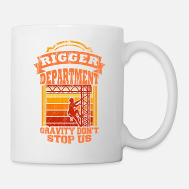 Assistance Rigger Stagecrew Crew Rigging Event Gift - Mug