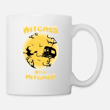 Some Halloween Witches With Hitches Shirt - Mug