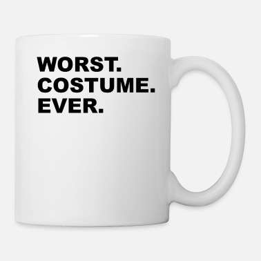 Decorated Worst Costume Ever Funny Halloween Vintage Party - Mug