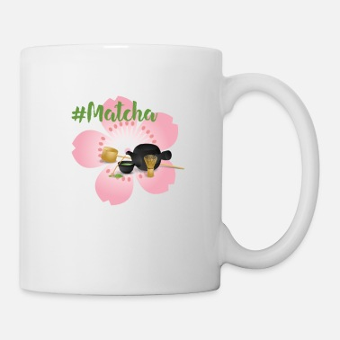 Matcha Tea with Sakura Petal - Mug