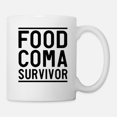 Food I'm a food coma survivor - Mug