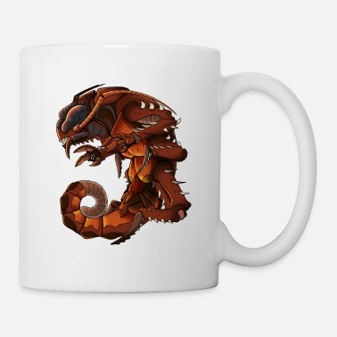 Scifi Giant Scifi Cockroach Monster - Mug