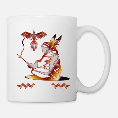 Native Native American Indian Man t-shirt - Mug