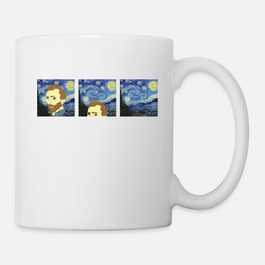Art Van Gogh Van Goghing Van Gone Paint Painter Artist - Mug