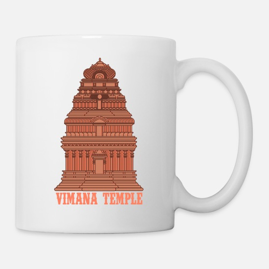 Indian Mugs & Drinkware - VIMANA Ancient India UFO For Ancient Astronauts - Mug white