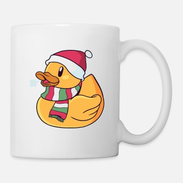 Duck Rubber Duck Ugly Christmas - Mug