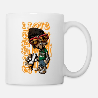 Graffiti I Love Graffiti - for painter artist draughtsman - Mug