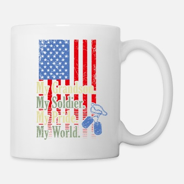 My My GrandSon My Soldier Hero Proud Army Grandma Mil - Mug