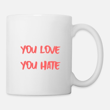 Philosophy To Get What You Love Be Patient With What You Hate - Mug