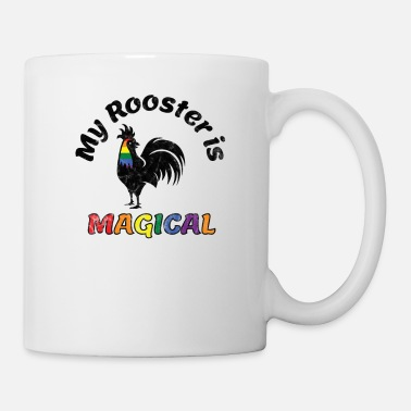 Parade Gay Pride Parade Magical Rooster Funny LGBTQ - Mug