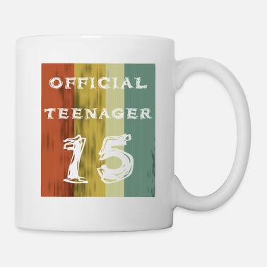 Official Official Teenager Girls Boys 15th Birthday Vintage - Mug