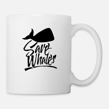 Save Save Whales Saving Whaling Whale Save The Whales - Mug