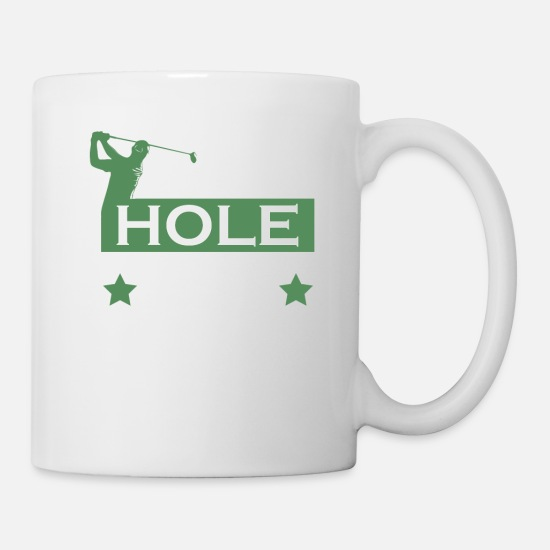 I Made A Double Bogey On Every Hole Mugs & Drinkware - Golf Lover Made Double Bogey Tossed Putter - Mug white