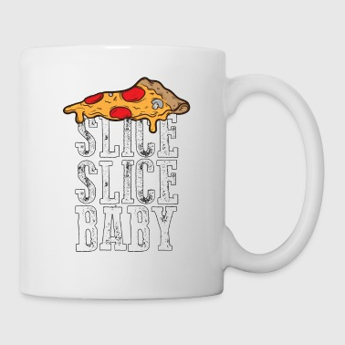 Slice Slice Baby - Pizza - Total Basics - Coffee/Tea Mug