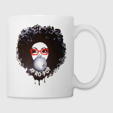 Afro pop_Global Couture Accessories - Coffee/Tea Mug