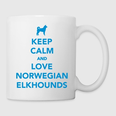 Norwegian Elkhound - Coffee/Tea Mug