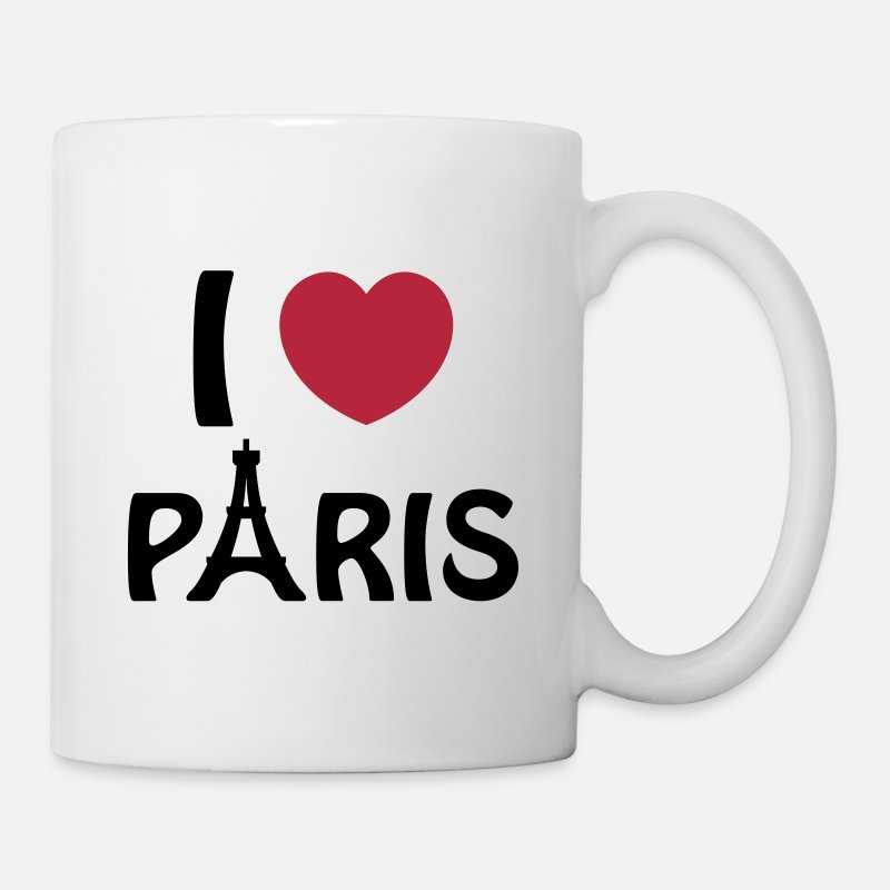 France Mugs & Drinkware - Paris - Mug white