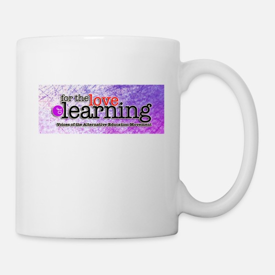 Miro Siegel Mugs & Drinkware - For the Love of Learning - Mug white