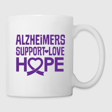 Alzheimers Awareness Support Hope - Coffee/Tea Mug