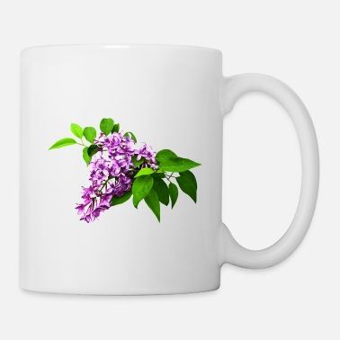 Lilac Lilacs and Leaves - Coffee/Tea Mug