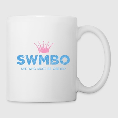 swmbo_blue - Coffee/Tea Mug