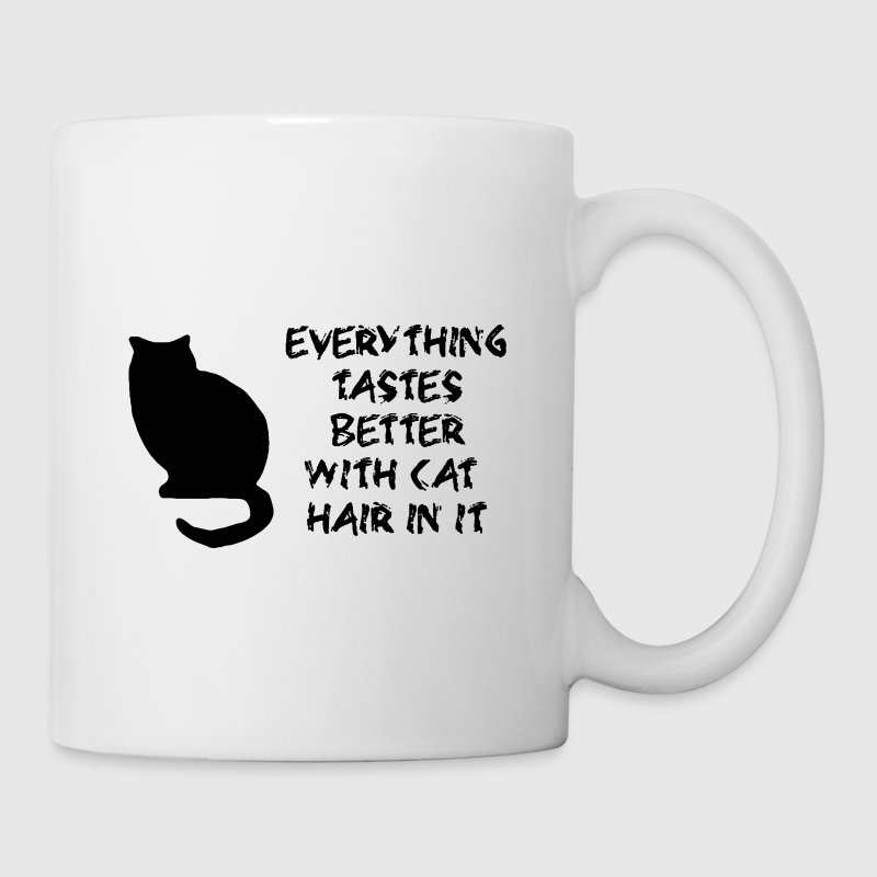 Everything Tastes Better With Cat Hair in it - Coffee/Tea Mug