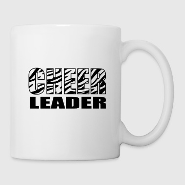 zebra_cheerleader - Coffee/Tea Mug