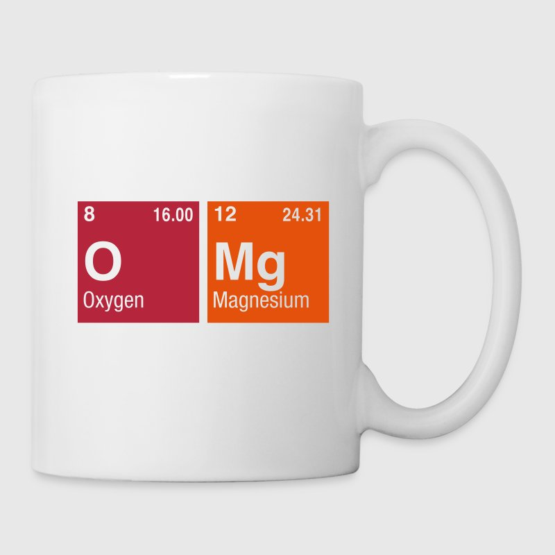 Written With Elements Of The Periodic Table Coffee Tea Mug