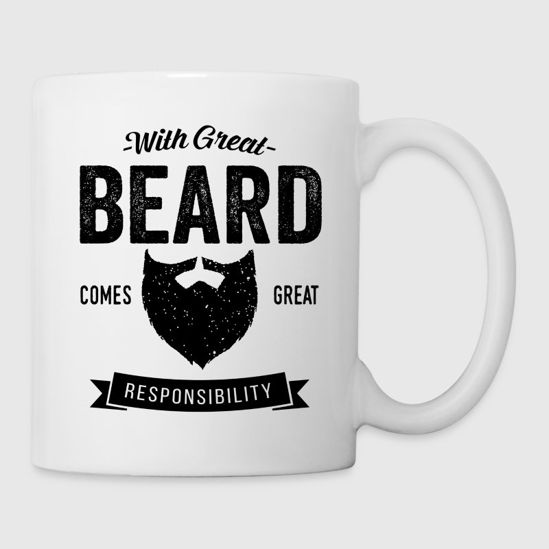 With Great Beard - Coffee/Tea Mug