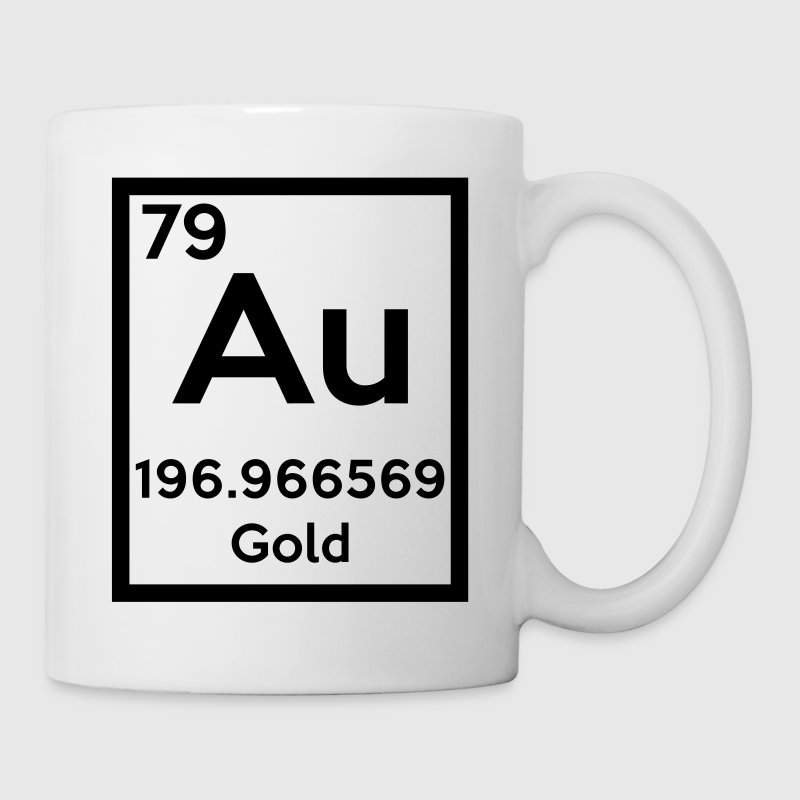 gold (element) - Coffee/Tea Mug