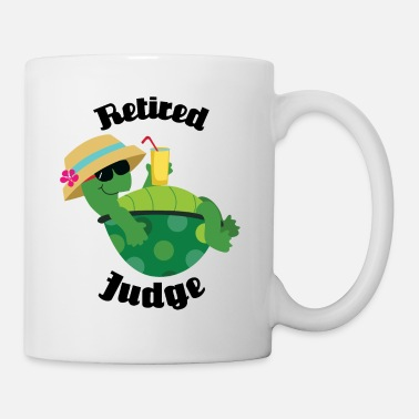 Retirement Retired Judge Retirement Gift - Mug