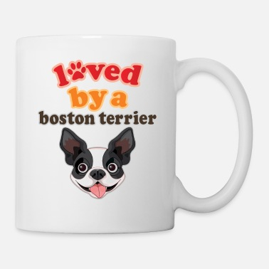 Boston Loved by a Boston Terrier Dog - Mug