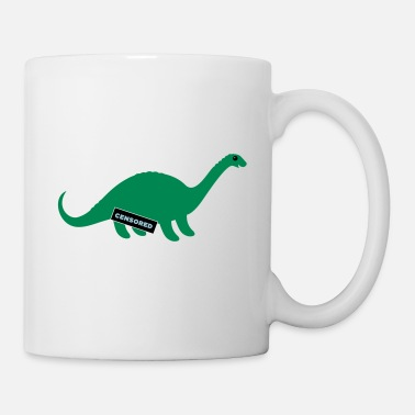 Dirty Sayings Dirty Dino - Coffee/Tea Mug