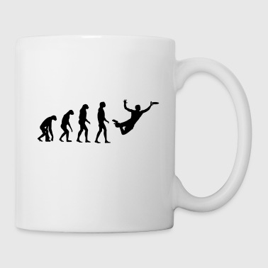 Ultimate Frisbee Evolution - Coffee/Tea Mug