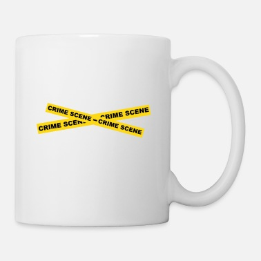 Crime Scene Crime Scene Tape - Coffee/Tea Mug