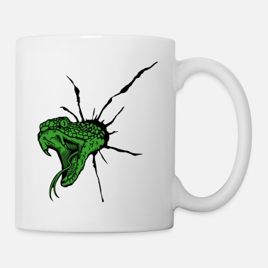 Bullet Hole viper and bullet hole - Coffee/Tea Mug