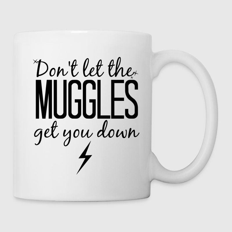 Don't Let the Muggles Get You Down - Coffee/Tea Mug