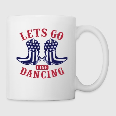 LET'S GO LINE DANCING - Coffee/Tea Mug