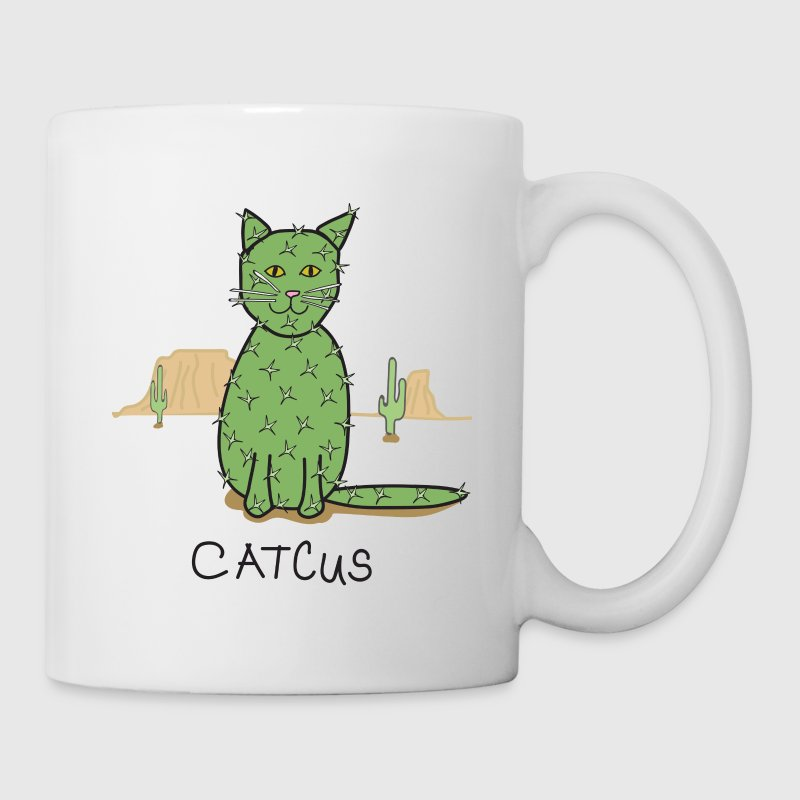 Catcus Cactus in Desert - Coffee/Tea Mug