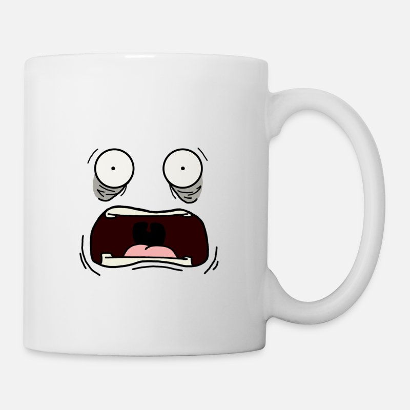Joe Mugs & Drinkware - Screamin Joe - Mug white