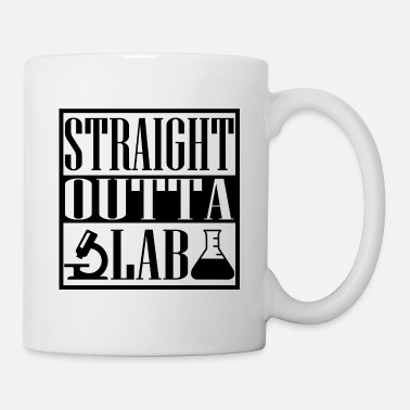 Confused Straight outto Lab chemistry present - Mug