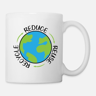 Reduced Reduce Reuse Recycle - Mug